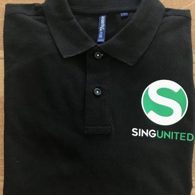 Sing United Logo Polo Shirt