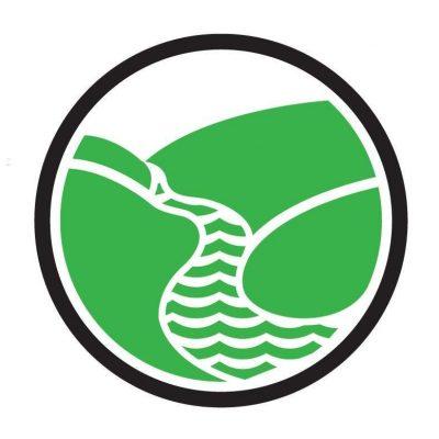 Sing United Community Singing River's Pride pin badge