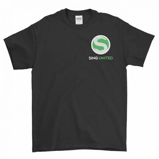Sing United Family Kids T Shirt Front