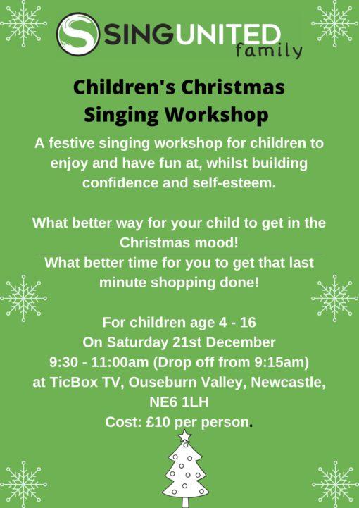 SUF Christmas Workshop